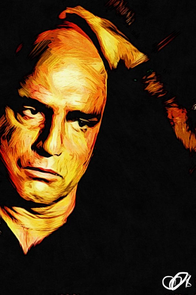 Marlon Brando by Adzee